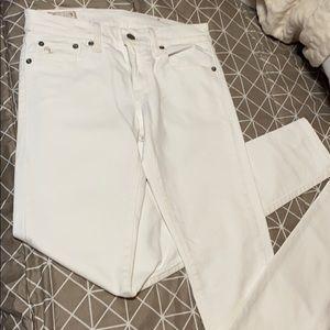 RALPH Lauren - off white jeans.